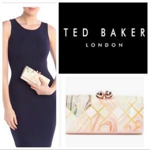 Ted Baker London Denna Sea of Clouds Wallet Clutch